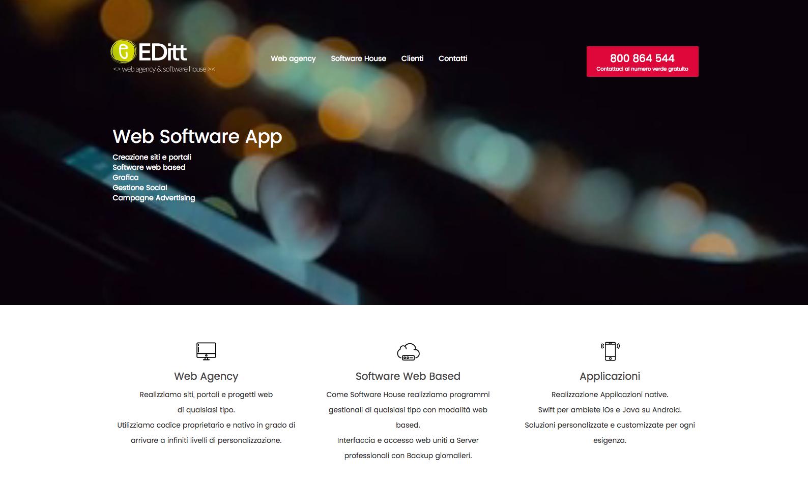 7214bfe227187 EDitt   Web agency - Software House - Sviluppo App   Roma e Italia